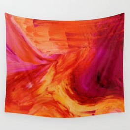 Abstract Hurricane II by Robert S. Lee Wall Tapestry