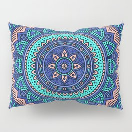 Hippie mandala 38 Pillow Sham