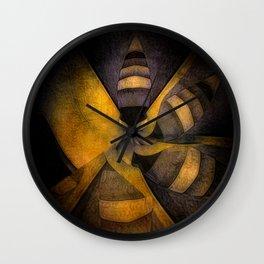 escape the hive Wall Clock