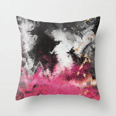 Pink Fusion  Throw Pillow