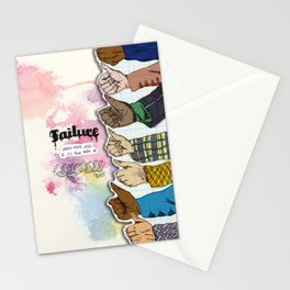 Failure is Success Stationery Cards