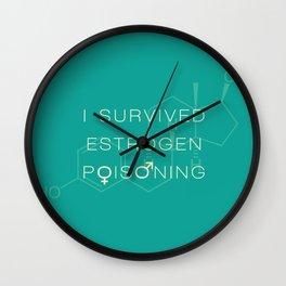 Estrogen Poisoning Wall Clock