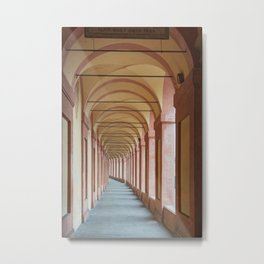 Portico Metal Print