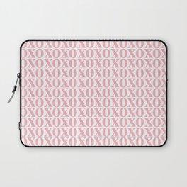 Coral XOXO Laptop Sleeve