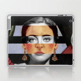 Frida Kahlo's Self Portrait Time Flies & Joan Crawford Laptop & iPad Skin