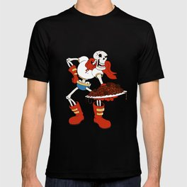 Papyrus and his Spaghetti T-shirt