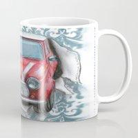 mini Mugs featuring Mini by Magdalena Almero