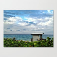 Guard Stand Canvas Print