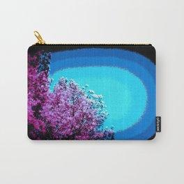 Mod Trees : Grape Purple & Blue Carry-All Pouch
