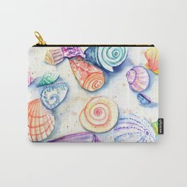 Whimsical Seashells 2 Carry-All Pouch