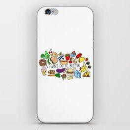 Vegans Do It Better iPhone Skin