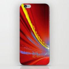 Traffic at warp speed III iPhone & iPod Skin