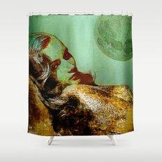 Veronica L. Shower Curtain