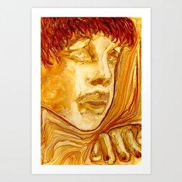 Golden Boy Art Print