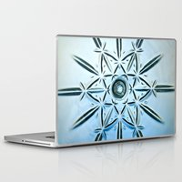 snowflake Laptop & iPad Skins featuring Snowflake by Jerel Cardona