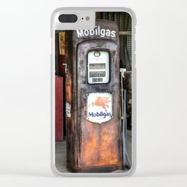 Mobilgas Clear iPhone Case