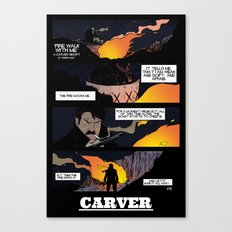 CARVER: Fire Walk With Me Canvas Print