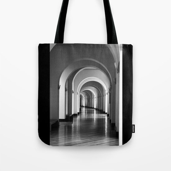 According to the light Tote Bag