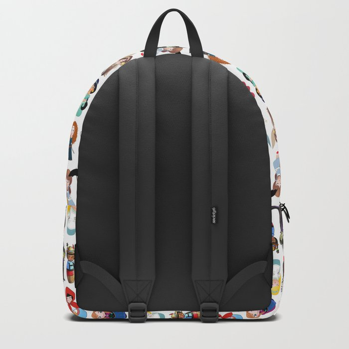 Kokeshis Fairy tales (new version) Backpack