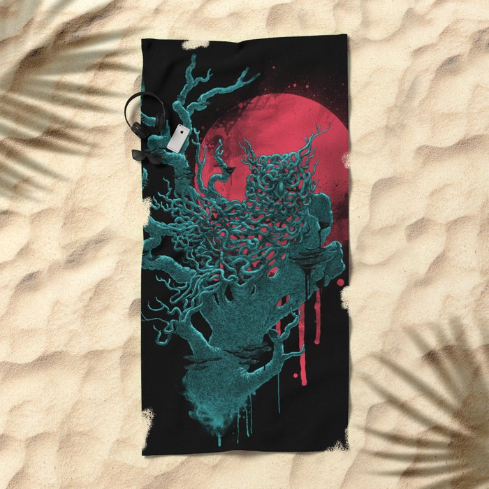 Night Shift Beach Towel