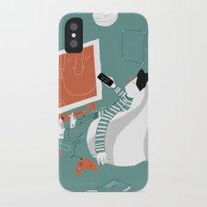 TV iPhone X Slim Case