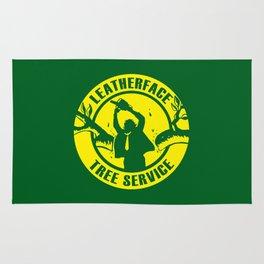 Leatherface Tree Service Rug