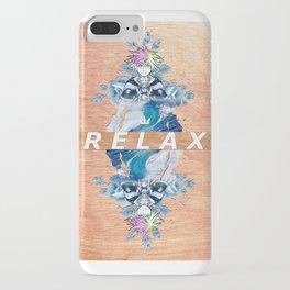 r e l a x iPhone Case