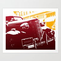 law Art Prints featuring The Law by Steel Graphics