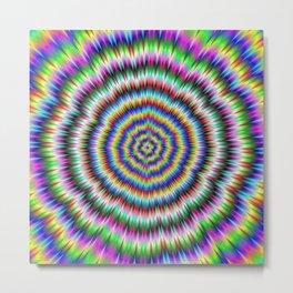 eye boggling psychedelic Metal Print