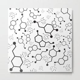 Serotonin and Dopamine Metal Print
