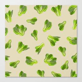 Lettuce Bok Choy Vegetable Canvas Print