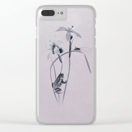 Wildflower Harmony Clear iPhone Case