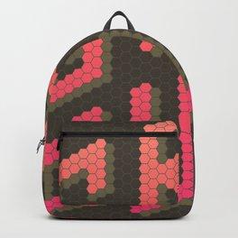 GRL PWR: Girl Power! Dark background Backpack