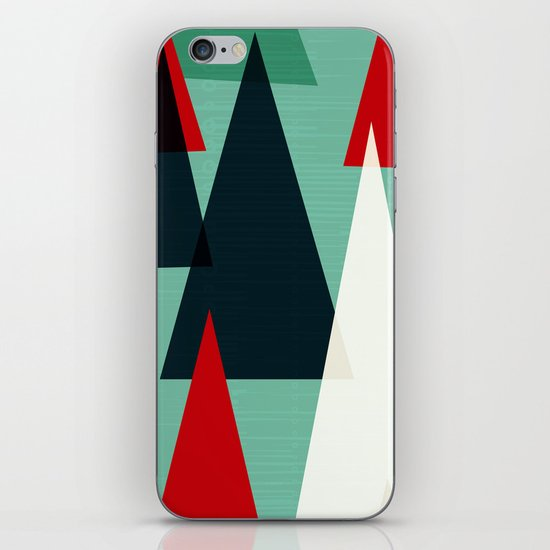 Abstract Forest by Friztin iPhone & iPod Skin