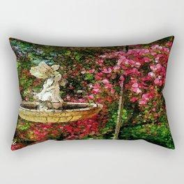 Garden Angel Rectangular Pillow