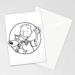 Doug and Dog Stationery Cards