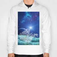 neverland Hoodies featuring To Neverland by Cat Milchard