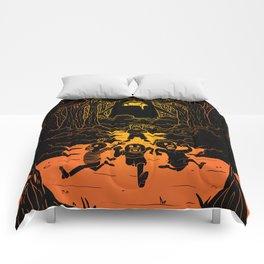 Ruuuun!! Comforters