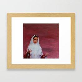 Take me to chruch Framed Art Print