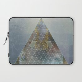 Perseid - Contemporary Geometric Pyramid Laptop Sleeve