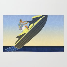 Personal watercraft Rug