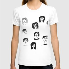 People in Ink Pens T-shirt