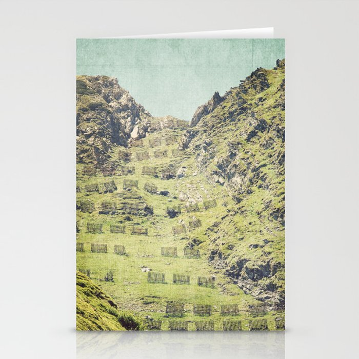 2000 m high Stationery Cards