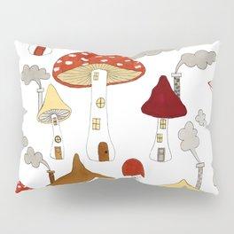 mushroom homes Pillow Sham