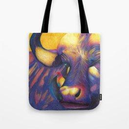 Wild Water buffalo Tote Bag