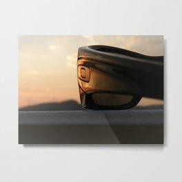 Oakley sunset Metal Print