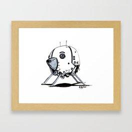ADORE-A-BOT Framed Art Print