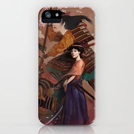 The Spirit of Tomoe Gozen iPhone Case