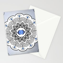 Third Eye Chakra Mandala Stationery Cards