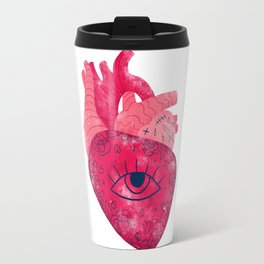 Look with your heart Travel Mug